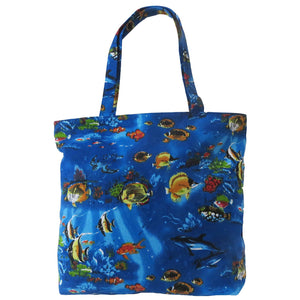 Womens Beach Bag Kay by Alessa Shopper Tote Bag Tropical Beach