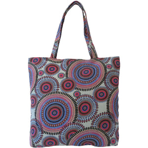 Womens Beach Bag SABINA by Alessa Kaleidoscope Print Beach Bag