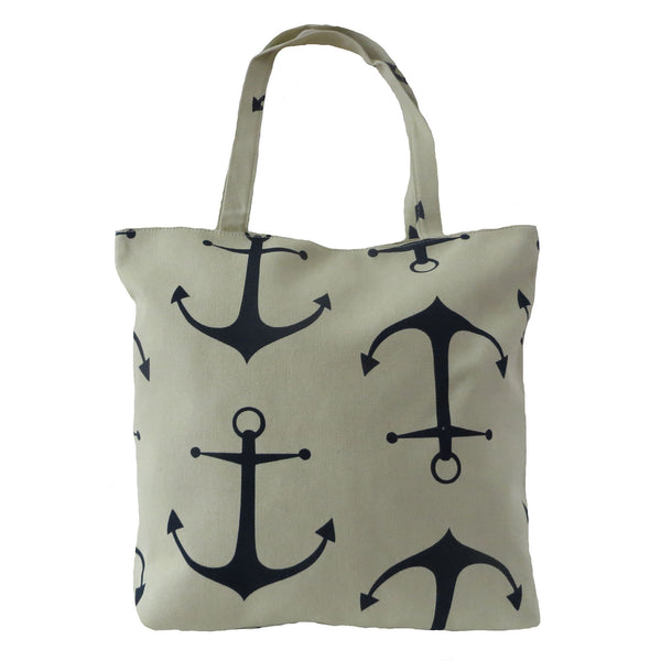 Womens Beach Bag Tammy by Alessa Shopper Tote Bag Nautical Ancho.