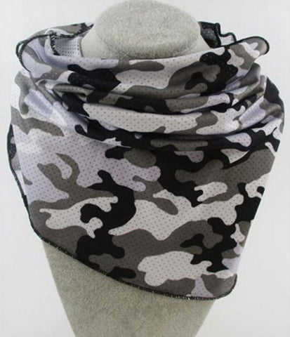 FASHION FACE MASK SCARF with Ear access Washable Reusable Camo.
