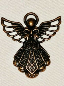 Attractables Custom Purse Jewelry-Magnet Key holder-Bronze Angel