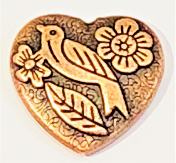 Attractables Custom Purse Jewelry-Magnet Key holder-Heart Dove