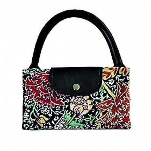 Tapestry William Morris The Cray Fold Up Bag by Signare Shopping