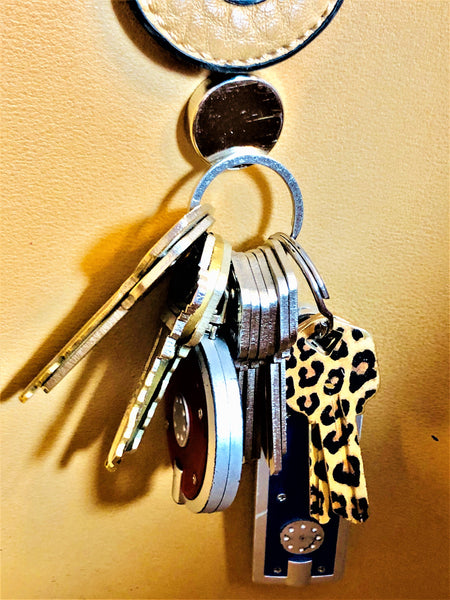 Attractables Custom Purse Jewelry-Magnet Key holder Brgt Pk Rose