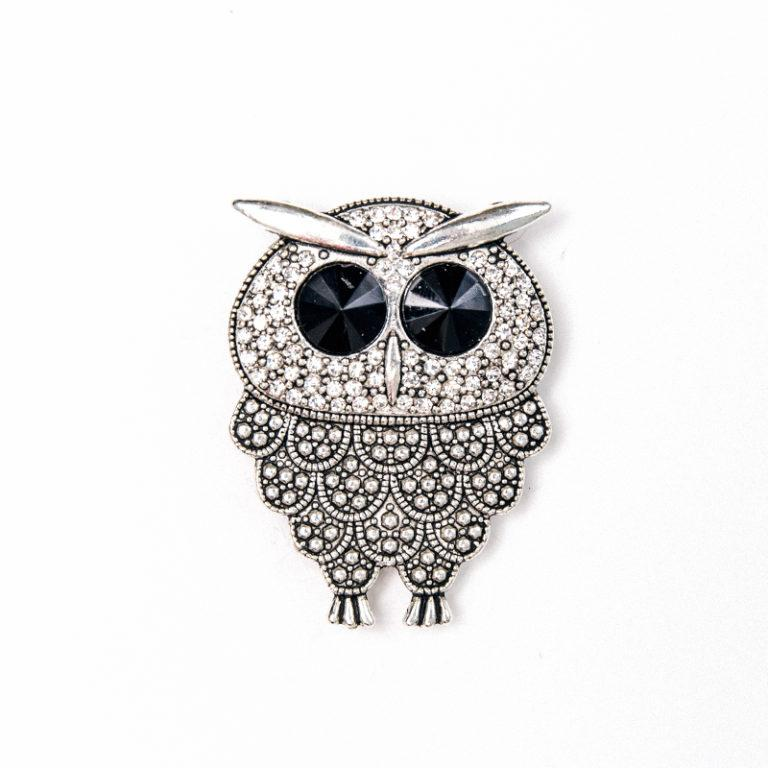 Attractables Custom Purse Jewelry-Magnet Key holder-Owl.