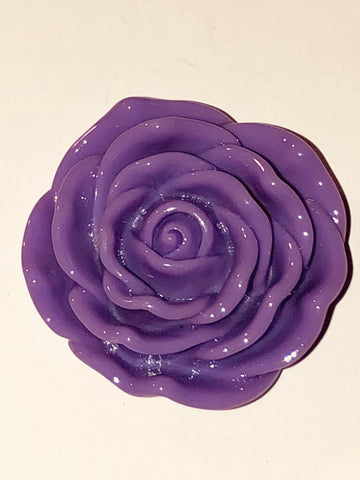 Attractables Custom Purse Jewelry-Magnet Key holder Purple Rose