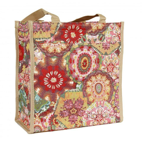 Signare Womens Fashion Tapestry Shopper Bag Kaleidoscope.