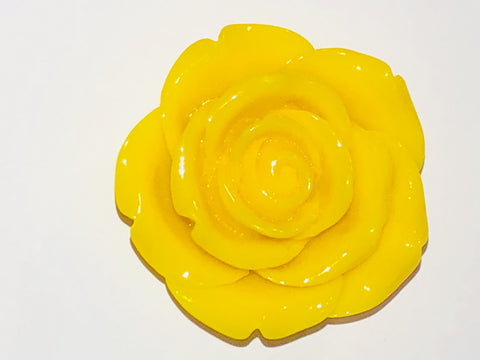 Attractables Custom Purse Jewelry-Magnet Key holder Yellow Rose