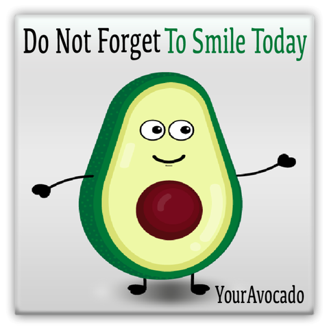 Louis The Avocado Metal Magnet