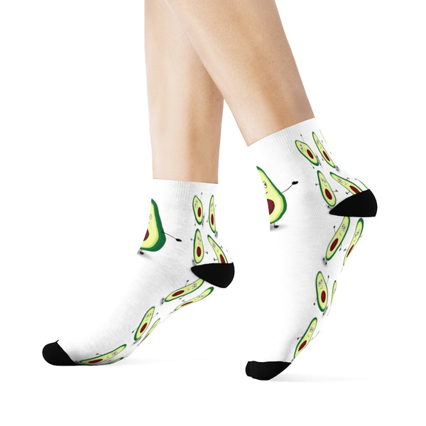 Louis The Avocado Ankle Socks