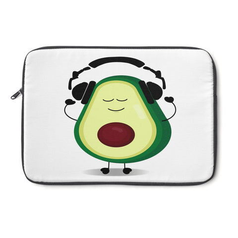 Louis With Headphones Laptop Sleeve