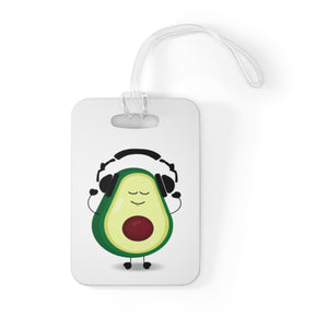Louis With Headphones Bag Tag