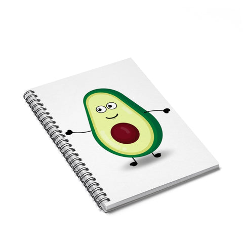 Louis The Avocado Spiral Notebook