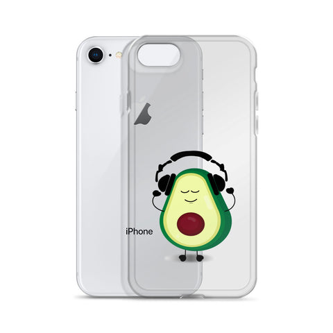 Louis With Headphones iPhone Case