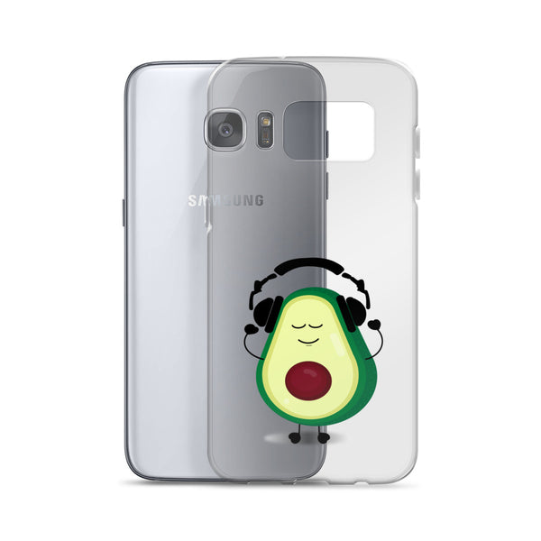 Louis With Headphones Samsung Case