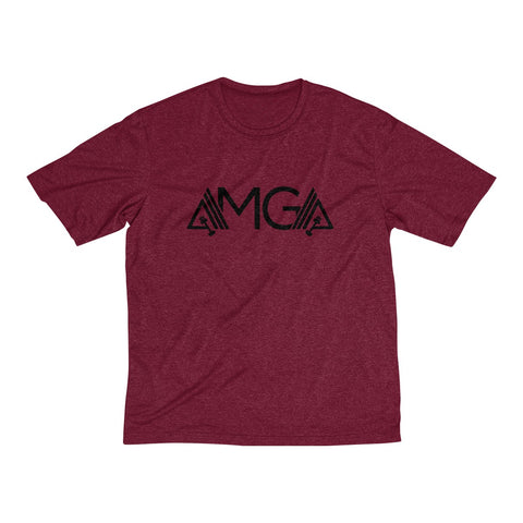 Image of AMGA Men Dri-Fit Performance Wicking T-Shirt - AMGA FIT