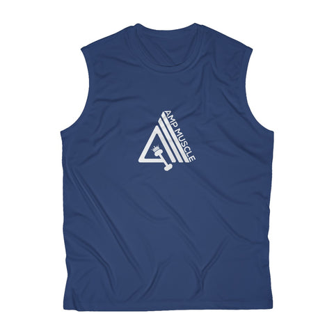 Image of AmpMuscle Men's Sleeveless Performance Tee - AMGA FIT