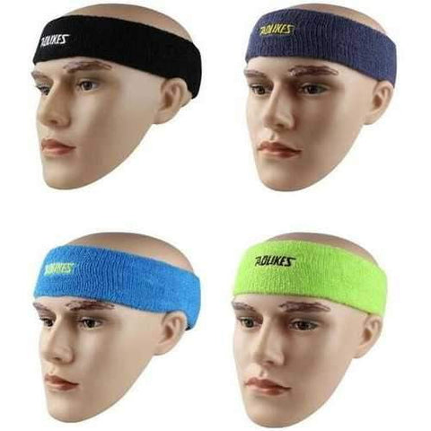 Image of Outdooors Sport Headbrand Breathable Sweat Towel Women Yoga Stretchy Sweatbands - AMGA FIT