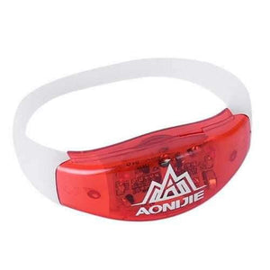 AONIJIE LED Running Bracelet Night Runner Luminous Sport Safety Warning Wristband - AMGA FIT