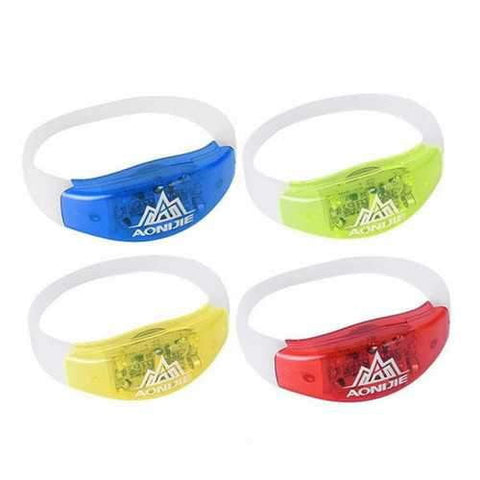 Image of AONIJIE LED Running Bracelet Night Runner Luminous Sport Safety Warning Wristband - AMGA FIT