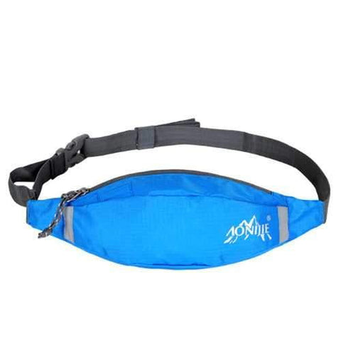 Image of AONIJIE Sports Running Waist Bag Pack Waterproof Nylon Hiking Storage Pouch - AMGA FIT