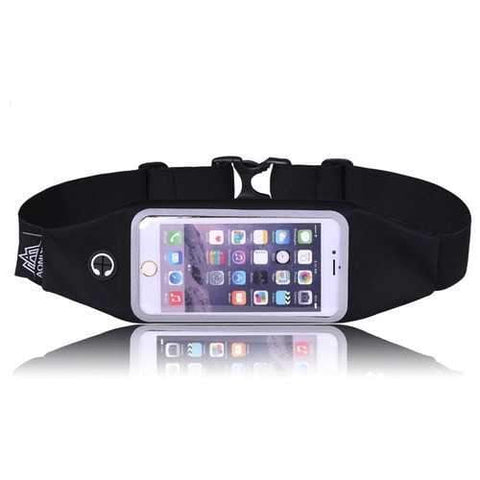 Image of AONIJIE Sports Waist Belt Bag Pack 4.7/5.5 Inch Touch Screen Phone Case Holder Marathon Running - AMGA FIT
