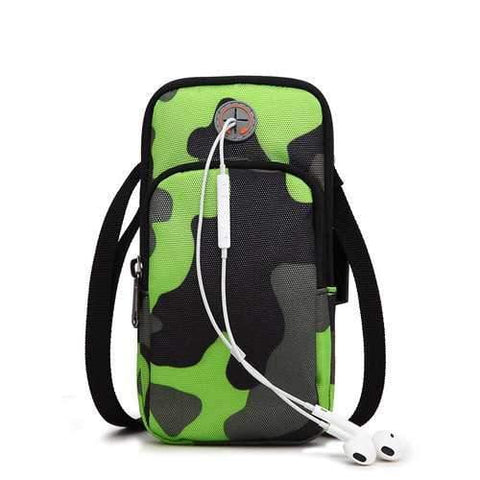 Image of Movement of Mobile Phone Bag  Anti Portable Arm with Men and Women Riding Running Outdoor Packages - AMGA FIT