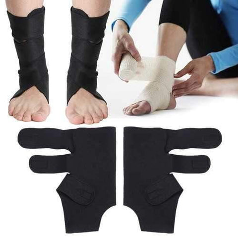 Image of Breathable Foot Ankle Support Brace Joint Sprain Fracture Recovery Stabilizer - AMGA FIT