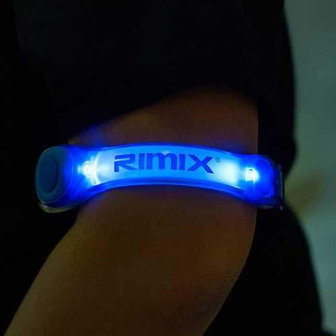 RIMIX Glowing LED Sports Night Running Riding Safety Lights Leggings Reflective Arm Band - AMGA FIT