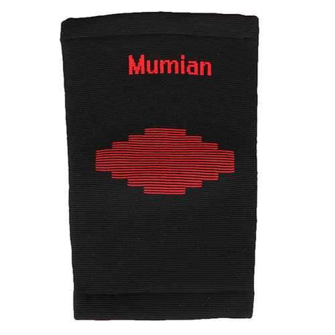 Mumian A03 Classic Red Black Color knitting Warm Sports Knee Pad Knee Sleeve Brace - 1PC - AMGA FIT