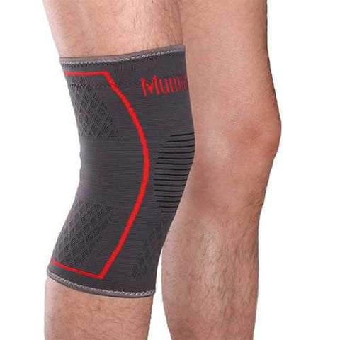 Mumian A09 Silicone Slip-Resistant Sports Knee Sleeve Support Brace Knee Guard Protector Pad- 1PC - AMGA FIT