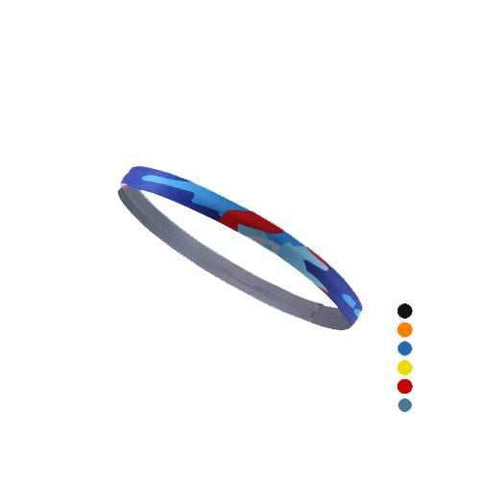 Image of TE560 Outdoor Sport Head Band Absorb Sweat Printing Cycling Playing Ball Fitness Yoga Hair Band - AMGA FIT