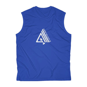 AmpMuscle Men's Sleeveless Performance Tee - AMGA FIT