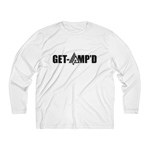 Get Amp'd Men Breathable Moisture Absorbing Long Sleeve Shirt - AMGA FIT