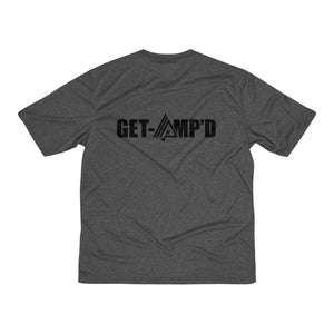 Get Amp'd Men Dri-Fit Performance Wicking T-Shirt - AMGA FIT