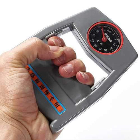 Hand Held Dynamometer Grip Reader Strength Counter Fitness Equipment - AMGA FIT