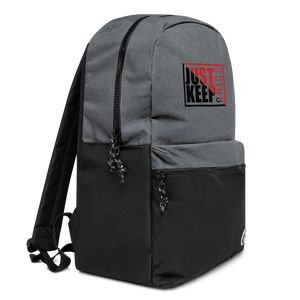 Just Keep Going Water Resistant Backpack - AMGA FIT