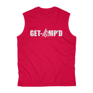 Get Amp'd Breathable Sweat-Wicking Sleeveless Performance Muscle T-Shirt - AMGA FIT