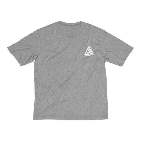 Image of Get Amp'd Men Dri-Fit Performance Wicking T-Shirt - AMGA FIT