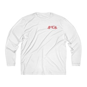 AMGA Men Just Keep Going Breathable Moisture Absorbing Long Sleeve Shirt - AMGA FIT