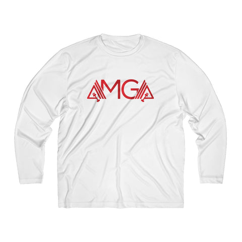 AMGA Men Breathable Moisture Absorbing Long Sleeve Shirt - AMGA FIT