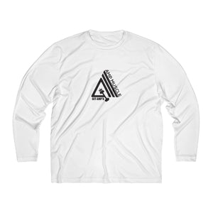 AmpMuscle Men Breathable Moisture Absorbing Long Sleeve Shirt - AMGA FIT