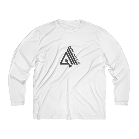 Image of AmpMuscle Men's Long Sleeve Moisture Absorbing Tee - AMGA FIT