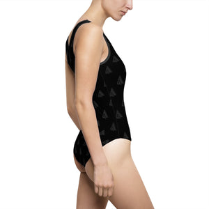 AMGA Women's Classic Swimming One-Piece Sports Swimsuit - AMGA FIT