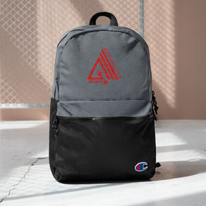 AmpMuscle Get Amp'd Water Resistant Backpack - AMGA FIT
