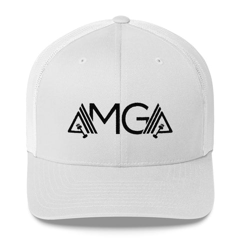 Image of AMGA Mid-Profile Mesh Adjustable Classic Trucker Hat - AMGA FIT