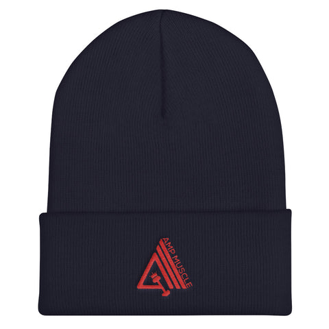 Image of AmpMuscle Unisex Cuffed Beanie Hat - AMGA FIT