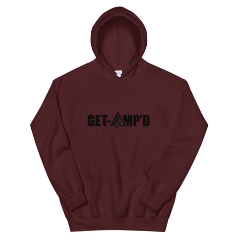 Image of Get Amp'd Athletic Double Lined Unisex Hoodie - AMGA FIT
