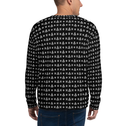 Image of AMGA All Over Print Unisex Sweatshirt