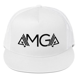 AMGA High Profile Snapback Trucker Cap - AMGA FIT